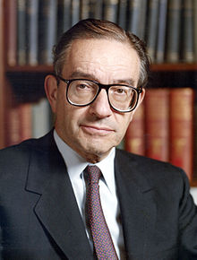 Alan Greenspan portrait